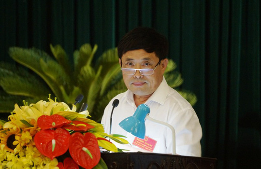 Bí thư Thanh Hóa Trịnh Văn Chiến dừng chất vấn, yêu cầu kiểm điểm vì giám đốc sở lạc đề - Ảnh 3.
