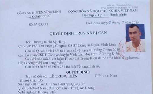 Cong an Quang Tri truy na 3 ke gay phan no du luan va canh bao ai bao che