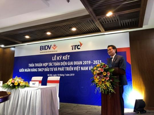 Tập đoàn TTC và BIDV hợp tác toàn diện giai đoạn 2019 - 2023 - Ảnh 1.