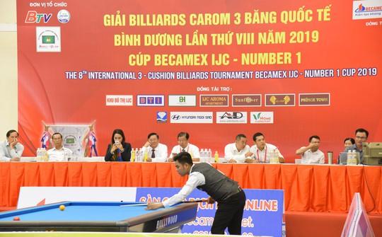 Nước tăng lực Number 1 tiếp tục đồng hành cùng Giải Billiards Carom 3 băng quốc tế Bình Dương - Ảnh 1.