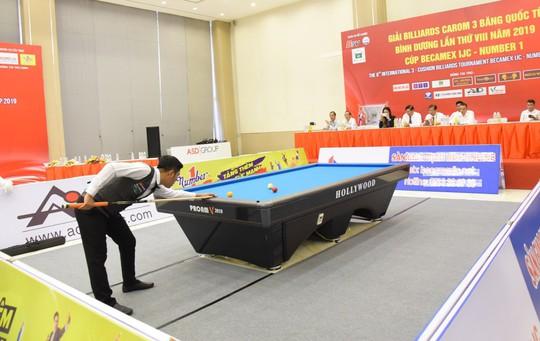 Nước tăng lực Number 1 tiếp tục đồng hành cùng Giải Billiards Carom 3 băng quốc tế Bình Dương - Ảnh 2.