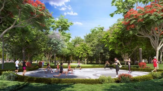 """Vinhomes Grand Park - thành phố thông minh - công viên đầu tiên chính thức """"chào sân"""" - Ảnh 4."""