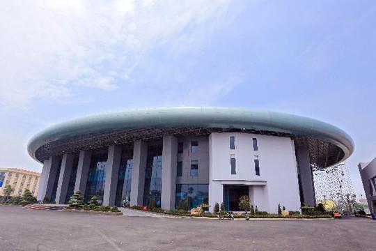 Giải bóng rổ Thanh Hà lần 1 diễn ra tại Khu Liên hợp thể thao Thanh Hà - Ảnh 1.