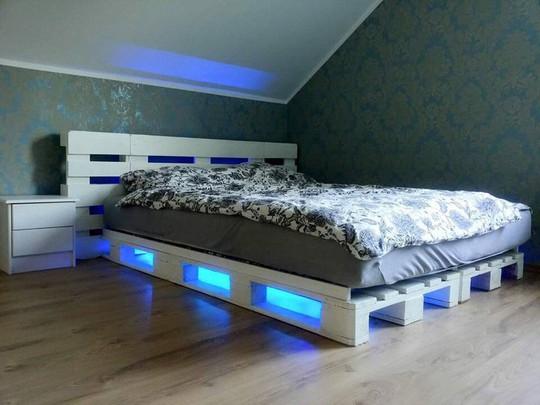 Các kiểu giường pallet có giá hợp lý cho phòng ngủ của bạn - Ảnh 3.