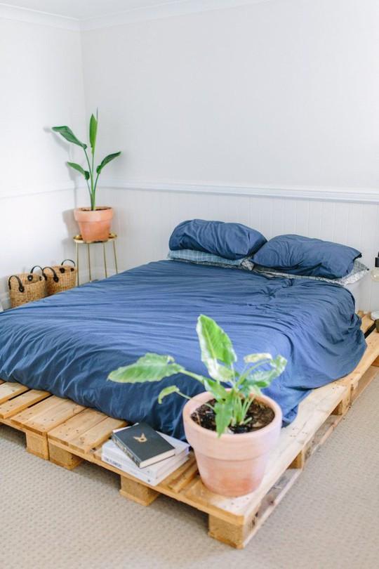 Các kiểu giường pallet có giá hợp lý cho phòng ngủ của bạn - Ảnh 4.