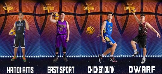 Giải bóng rổ Thanh Hà lần 1 diễn ra tại Khu Liên hợp thể thao Thanh Hà - Ảnh 4.