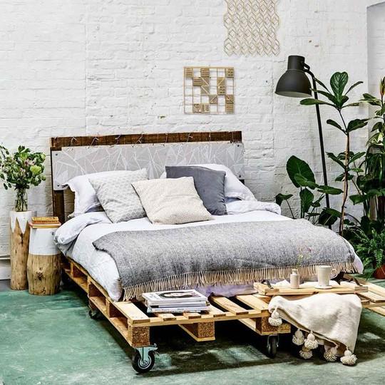 Các kiểu giường pallet có giá hợp lý cho phòng ngủ của bạn - Ảnh 5.