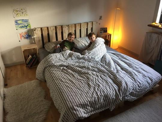 Các kiểu giường pallet có giá hợp lý cho phòng ngủ của bạn - Ảnh 6.