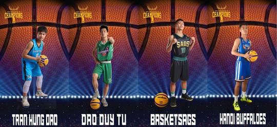 Giải bóng rổ Thanh Hà lần 1 diễn ra tại Khu Liên hợp thể thao Thanh Hà - Ảnh 6.