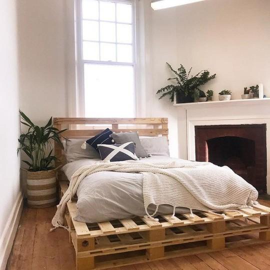 Các kiểu giường pallet có giá hợp lý cho phòng ngủ của bạn - Ảnh 7.