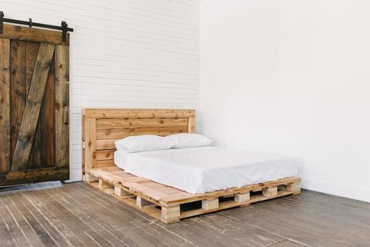 Các kiểu giường pallet có giá hợp lý cho phòng ngủ của bạn - Ảnh 8.