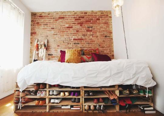 Các kiểu giường pallet có giá hợp lý cho phòng ngủ của bạn - Ảnh 9.