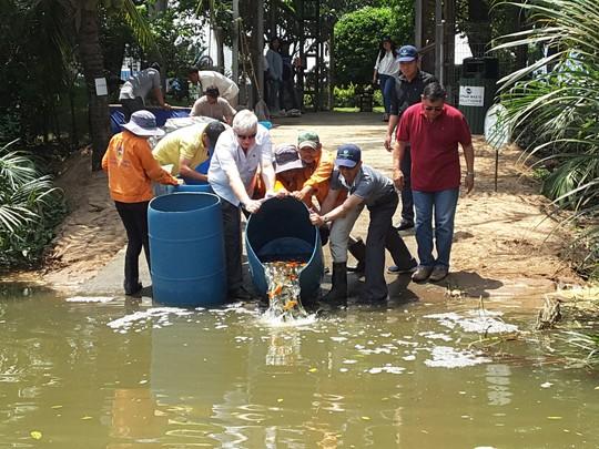 VWS tái sinh nguồn thủy sản cho Rạch Chiếu - Ảnh 1.