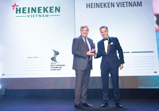 Heineken Việt Nam được vinh danh nơi làm việc tốt nhất châu Á - Ảnh 1.