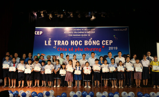 2.253 suất học bổng cho con thành viên CEP - Ảnh 1.
