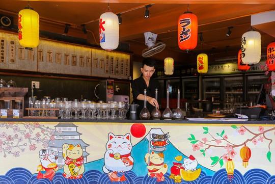 Quán cà phê kiểu Nhật cho khách tự pha chế ở TP HCM - Ảnh 2.