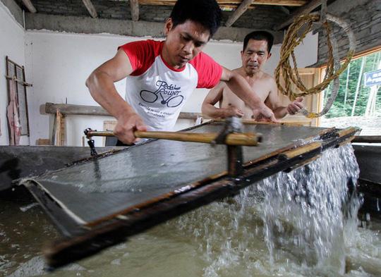 Làng làm giấy thủ công hơn 1.300 năm ở Trung Quốc - Ảnh 5.