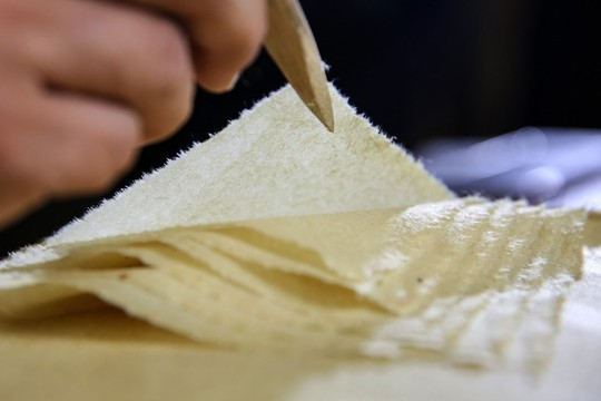 Làng làm giấy thủ công hơn 1.300 năm ở Trung Quốc - Ảnh 8.
