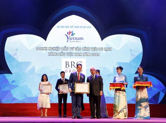 BRG được vinh danh nhiều giải tại Giải thưởng Du lịch Việt Nam 2019 - Ảnh 1.