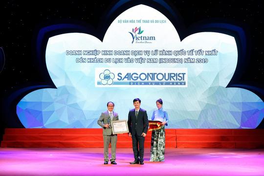 Lữ hành Saigontourist tiếp tục được vinh danh 4 Giải thưởng du lịch Việt Nam năm 2019 - Ảnh 2.