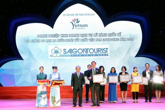 Lữ hành Saigontourist tiếp tục được vinh danh 4 Giải thưởng du lịch Việt Nam năm 2019 - Ảnh 3.