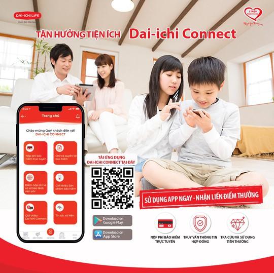 Dai-ichi Life Việt Nam ra mắt ứng dụng Dai-ichi Connect - Ảnh 1.