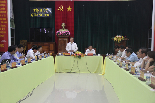 Kêu gọi xúc tiến đầu tư ở Quảng Trị: Chúng tôi như những người đi bán cà rem!
