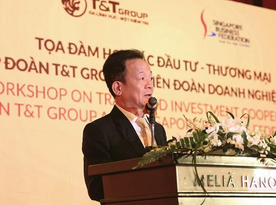 Tập đoàn T&T Group và Liên đoàn Doanh nghiệp Singapore trao đổi cơ hội hợp tác thương mại và đầu tư - Ảnh 2.