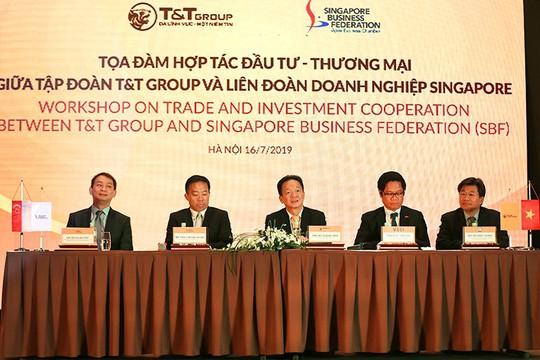 Tập đoàn T&T Group và Liên đoàn Doanh nghiệp Singapore trao đổi cơ hội hợp tác thương mại và đầu tư - Ảnh 1.