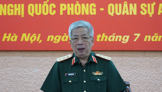 Thượng tướng Nguyễn Chí Vịnh nói về vấn đề Biển Đông - Ảnh 1.