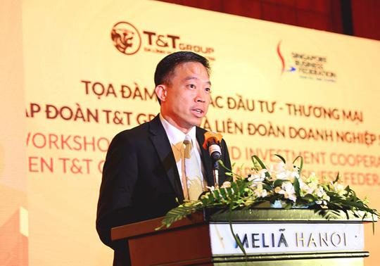 Tập đoàn T&T Group và Liên đoàn Doanh nghiệp Singapore trao đổi cơ hội hợp tác thương mại và đầu tư - Ảnh 3.