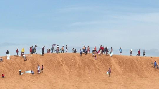Kỳ nghỉ hè trên cát
