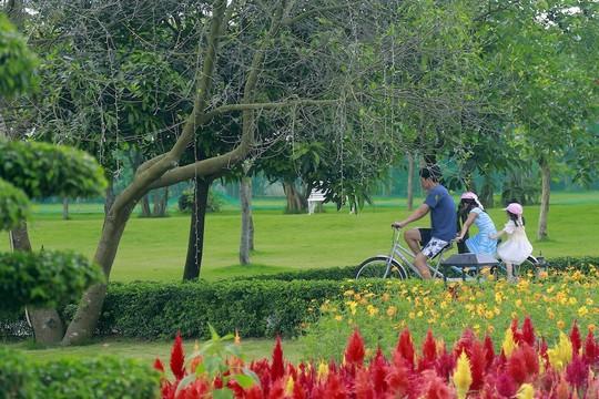 Thiên đường nghỉ dưỡng xanh nơi cửa ngõ Thủ đô - Ảnh 2.