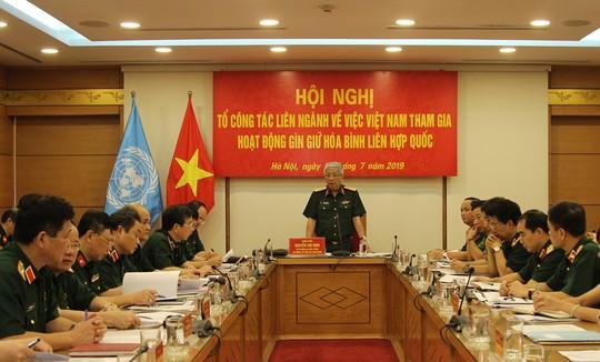 Sĩ quan Việt Nam được mời vào nhiều vị trí cao của lực lượng mũ nồi xanh LHQ - ảnh 1