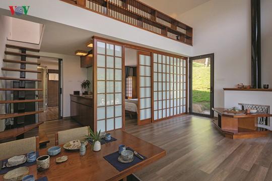 Ngôi nhà mang phong cách Nhật Bản ở miền trung du - Ảnh 4.