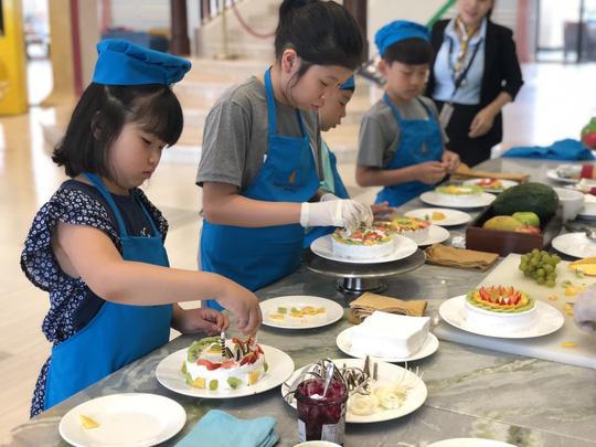 Hào hứng với các lớp học kỹ năng dành cho trẻ ở Vinpearl - Ảnh 1.