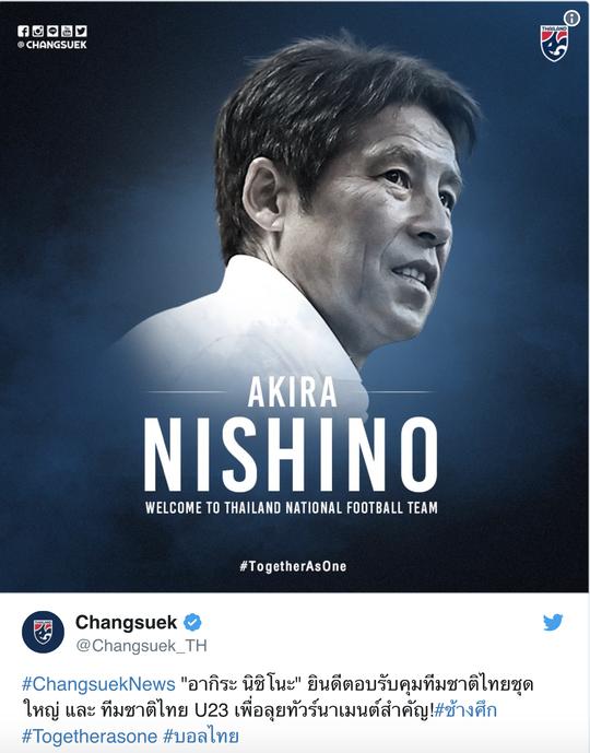Cựu HLV Nhật Bản được bổ nhiệm dẫn dắt tuyển Thái Lan - Ảnh 1.