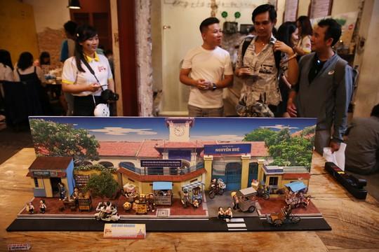 Ngắm Sài Gòn xưa qua mô hình thu nhỏ - ảnh 1