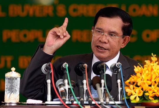 """Thủ tướng Hun Sen phản ứng về """"thoả thuận cho Trung Quốc dùng căn cứ"""" - ảnh 1"""