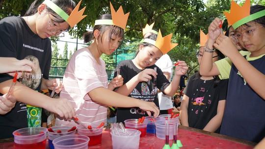 Khai mạc trại hè dành cho con em ngành điện lực miền Nam - Ảnh 4.