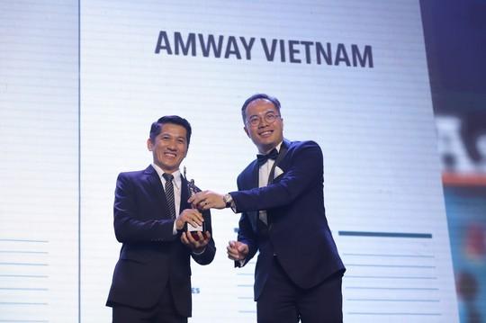 Amway Việt Nam nhận Giải thưởng Nơi làm việc tốt nhất châu Á 2019 - Ảnh 1.