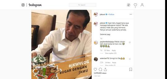 Tổng thống Indonesia chia sẻ bí quyết giữ sức khoẻ - Ảnh 1.