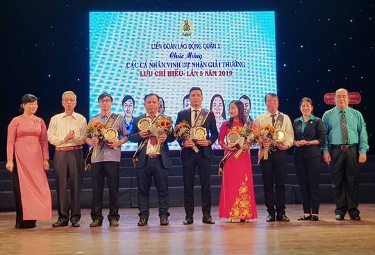 Trao Giải thưởng Lưu Chí Hiếu cho cán bộ Công đoàn, CNVC- LĐ tiêu biểu - Ảnh 2.
