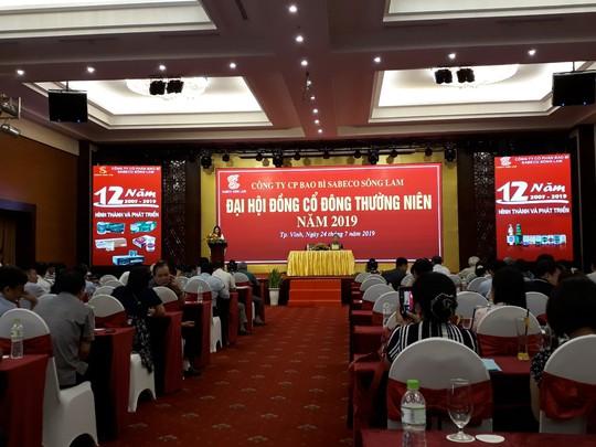 Bao bì Sabeco Sông Lam: Ổn định khách hàng để phát triển bền vững - Ảnh 1.