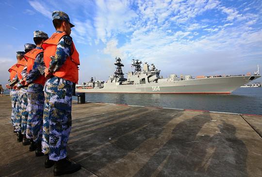 Mỹ e ngại liên minh quân sự Nga - Trung - ảnh 2