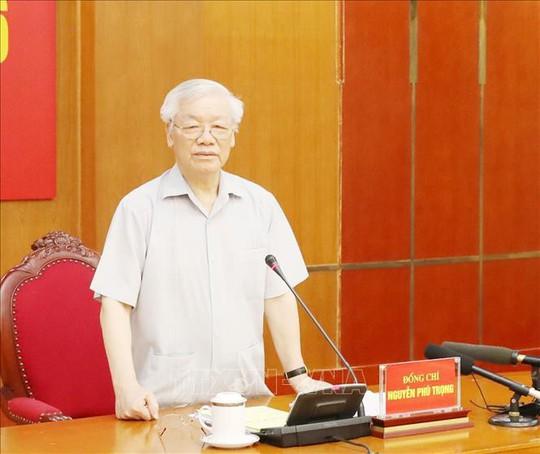 Tổng Bí thư, Chủ tịch nước chủ trì họp Ban Chỉ đạo Trung ương về phòng, chống tham nhũng - ảnh 1
