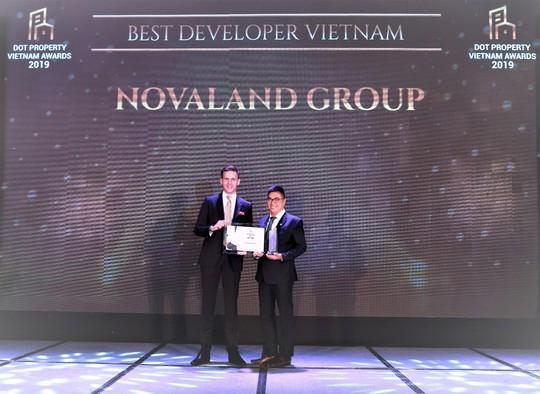 Novaland Group đạt giải Best Developer Vietnam tại Dot Property Awards 2019 - Ảnh 1.