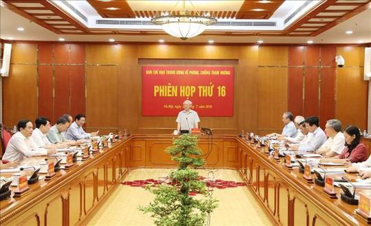 Tổng Bí thư, Chủ tịch nước chủ trì họp Ban Chỉ đạo Trung ương về phòng, chống tham nhũng - ảnh 3