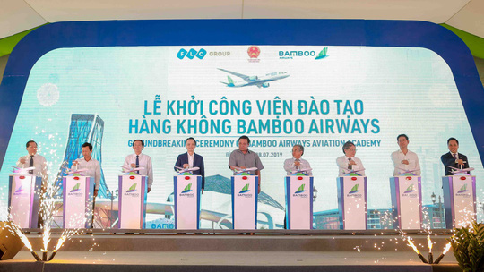 Chính thức khởi công xây dựng Viện đào tạo Hàng không Bamboo Airways - Ảnh 5.