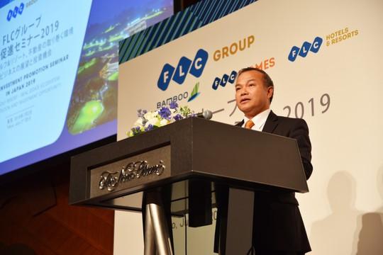 FLC giới thiệu hệ sinh thái sản phẩm cao cấp tới các nhà đầu tư Nhật Bản - Ảnh 1.